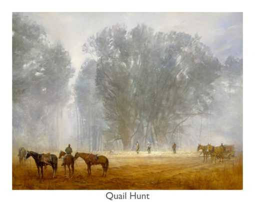 Quail Hunt print