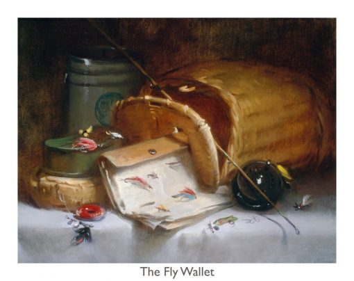 The Fly Wallet print